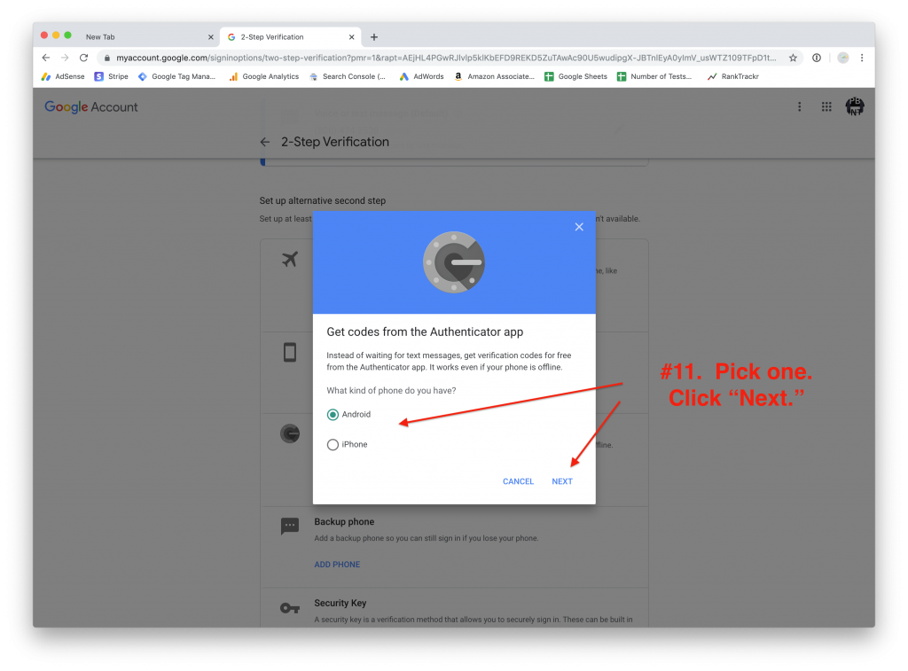 Two Factor Authentication Part 2 How To Set Up 2fa On Your Google Account Netvantage Marketing